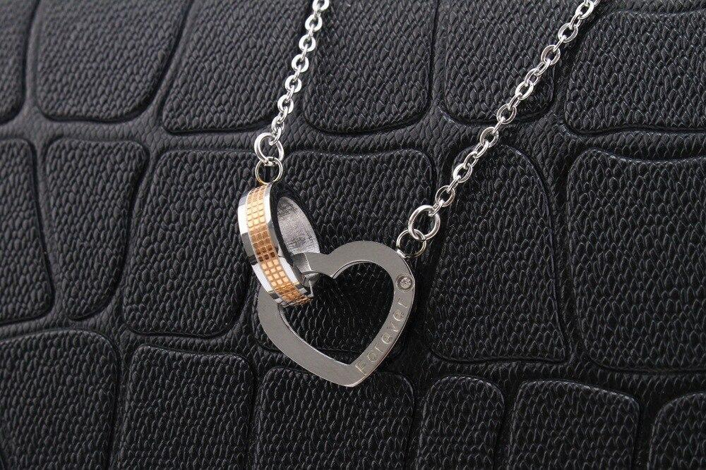 Us Stock Uloveido Necklaces Pendants Couple Necklace For Men And Women Heart And Square Paired Pendant Valentines Day Gift Sn048
