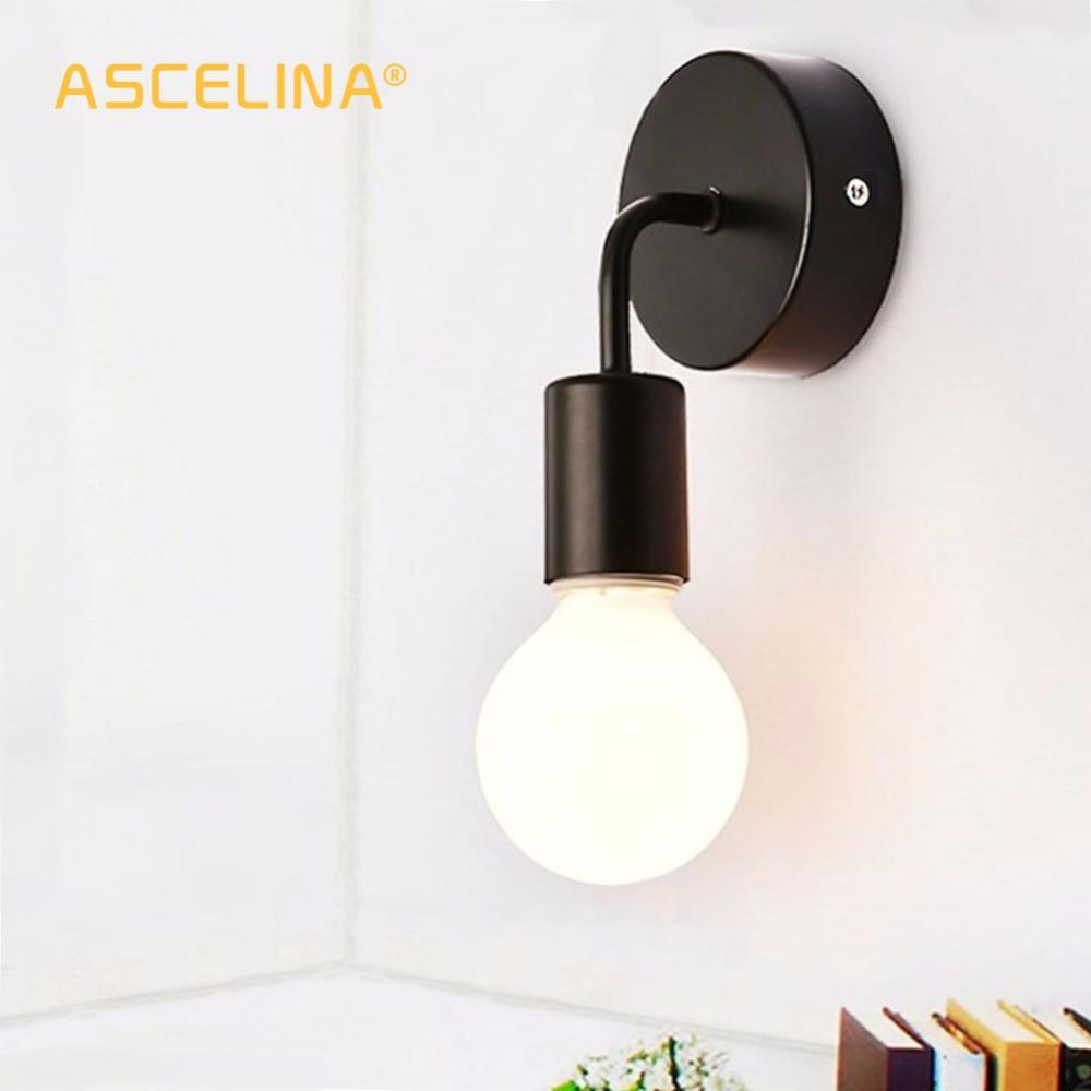 Vintage Wall Lamp Bedside Wall Light For Home Outdoor Wall Lamp Aisle Balcony Home Lighting Decorative Lighting Fixtures 85-260V