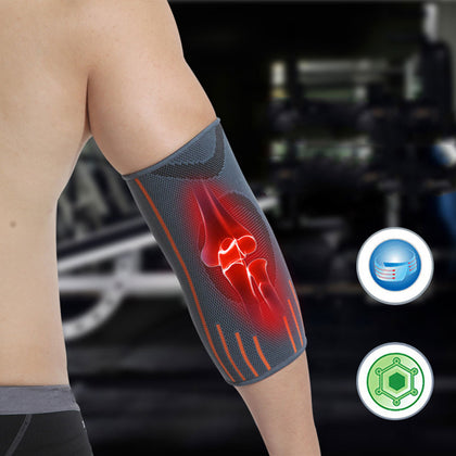 1 Pcs Breathable Compression Elbow Support Sleeve | Arm Brace Protector for Weightlifting Volleyball and Tennis