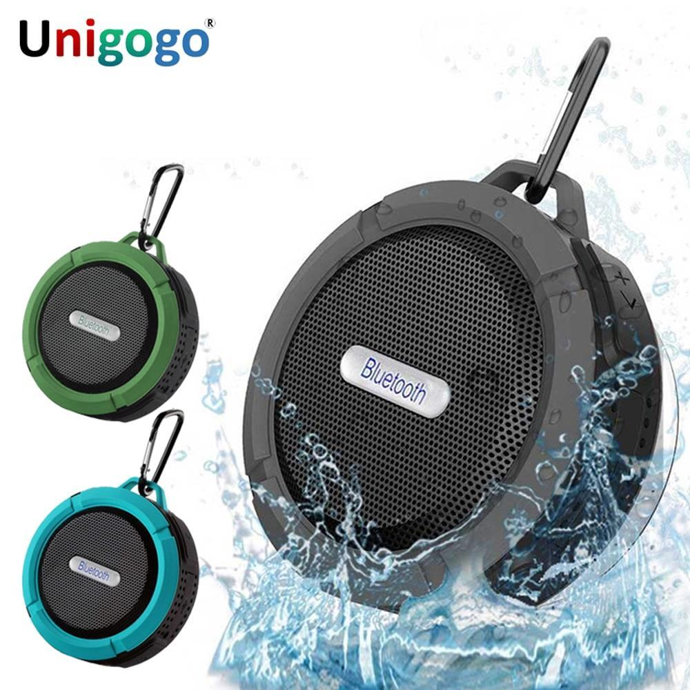 Portable Column Mini Loudspeaker Waterproof Outdoor Bluetooth Speaker Shower Sound Box Wireless Car Subwoofe For Phone Pc Laptop