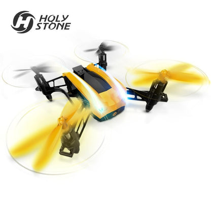 [EU USA Stock] Holy Stone HS150 Bolt Bee 50KM/H High Speed Racing RC Quadcopter RTF 2.4GHz 6-Axis Headless Mode Wind Resistance