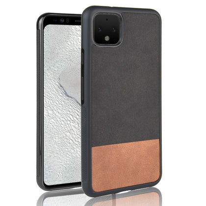 Luxury Fabric cowboy Splice PU Leather case For Google pixel 4/pixel 4 XL