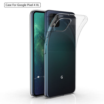 100Piece/Lot Transparent TPU Case For Google Pixel 4 XL 4XL Phone Ultra-thin Silicone Cases Coque Fundas Capa Pixel4 Pixel4XL