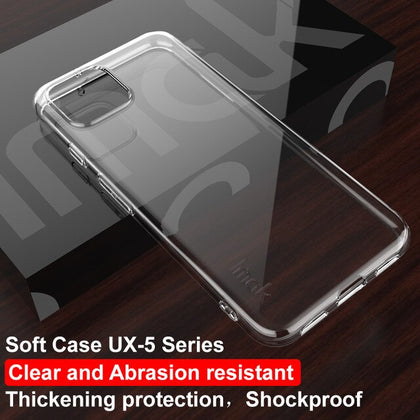 For Google Pixel 4 Case IMAK Fitted Case High Quality TPU Cover Soft TPU Case For Google Pixel 4 Back Cover