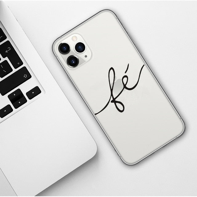 Positive Good Vibe Happy Trust Funny Quote Soft Phone Case Cover For iPhones
