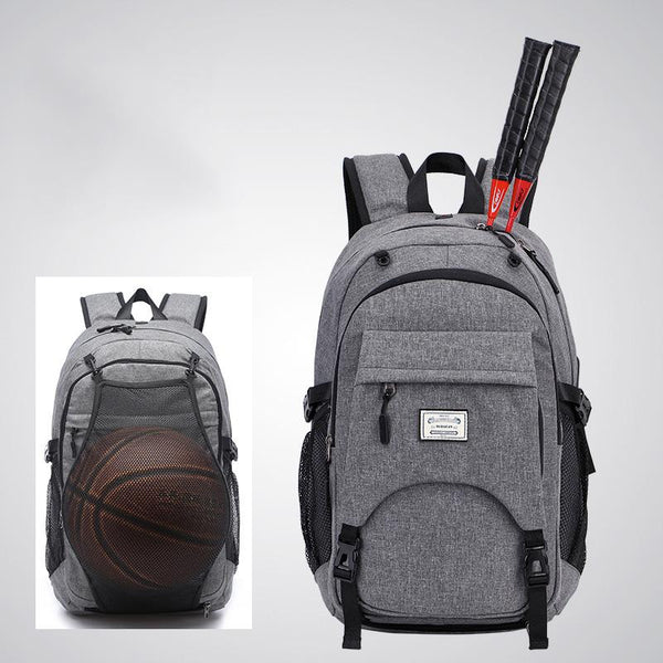 Tuguan new basketball backpack men's schoolbag exercise fitness bag USB charging Backpack CF-1806S