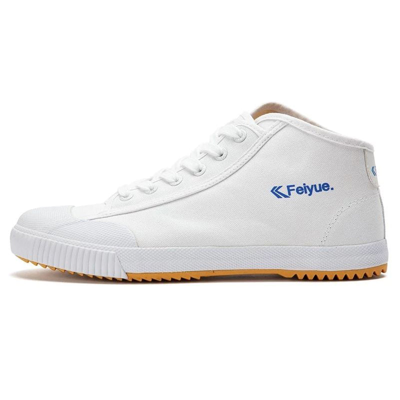 Feiyue shoes New white Delta Mid Felo Top Sneaker Martial Arts KungFu Classic Canvas shoes