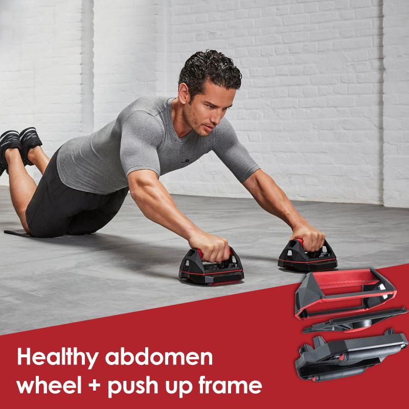 Decathlon Push up stand Healthy belly roller skater 2183447