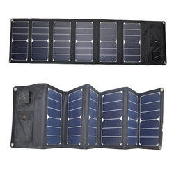 High efficiency portable folding bag solar panel 40W charger outdoor emergency power outdoor equipment RG-40W-E