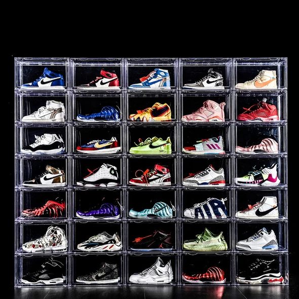 Drop Front Shoe Box