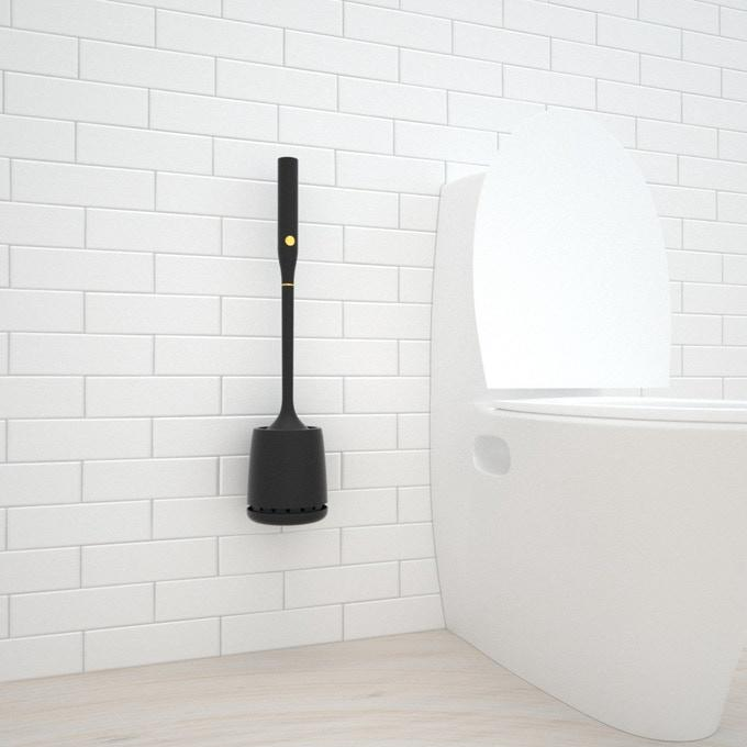World's First Electric Toilet Brush With Self-Cleaning MT1