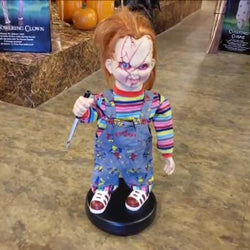 Halloween Electric Doll—Child's Play