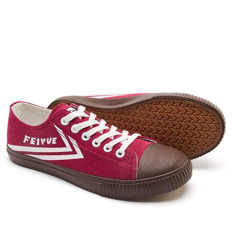 Feiyue 839 Canvas Shoes Spring Autumn New Retro Vulcanized Shoes Casual Women Sneakers 3 Colors Low-top Trend Flat Shoes Woman