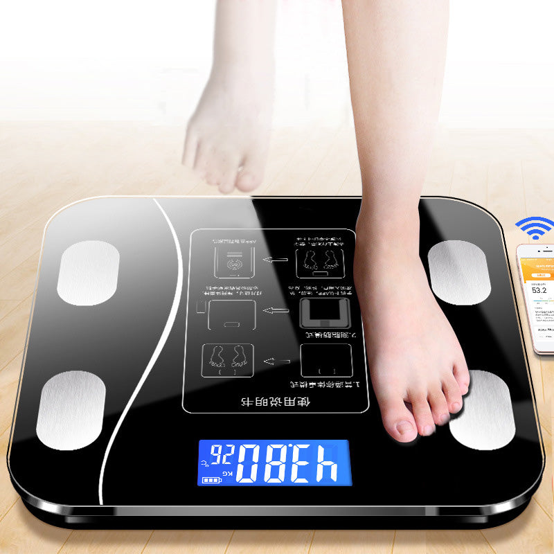 Intelligent Body Fat Scale Household Electronic Scale Human Body Weight Scale Human Body Scale