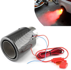 Car Exhaust Tip Muffler Pipe Steel w/ LED