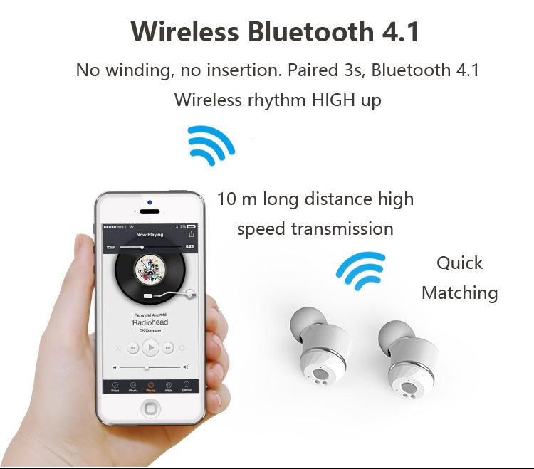 Kongfu Dragon TWS Bilateral Wireless Bluetooth Earphone i7s