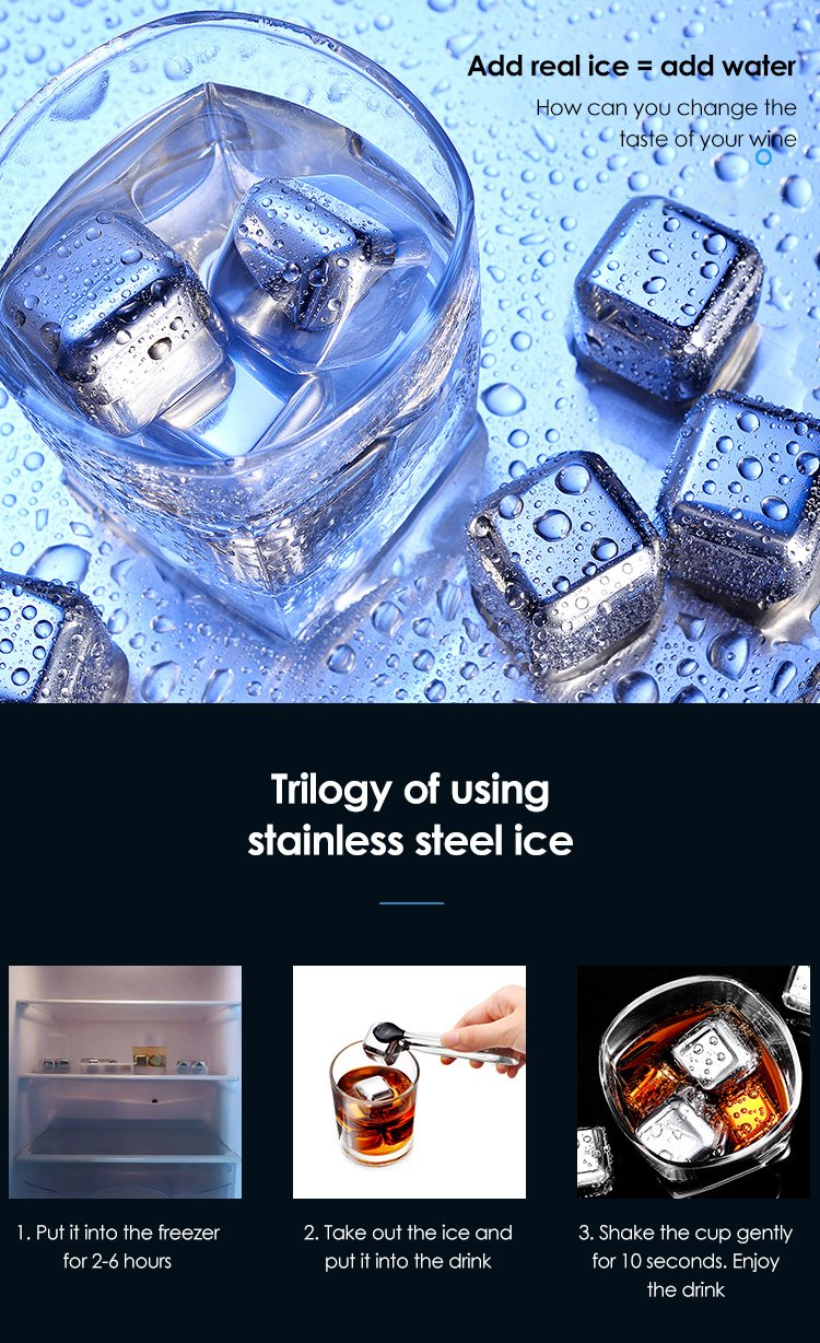 Ice Magic Artifact Food Grade Stainless Steel Frozen Ice 2003252