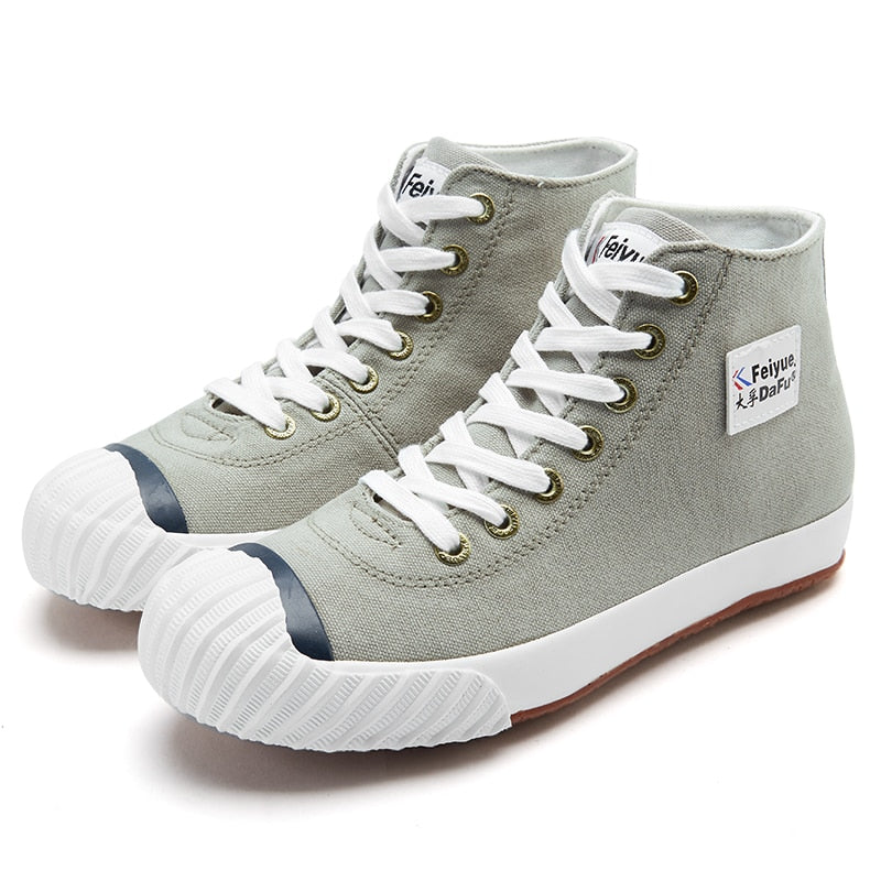 Dafufeiyue High-tops Canvas Shoes Casual Track Sneakers Fashion Street Sneakers Casual Men's Women's Street Loafers Shoes 843