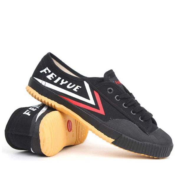 Feiyue shoes Kung fu Black shoes, Retro Martial Arts Shoes women men sneakers