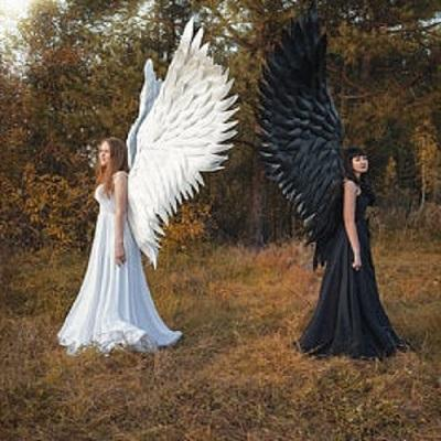 50% OFF🎃🎃Halloween 3D Angel Devil Big Wings