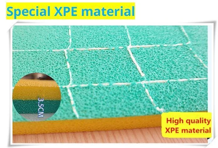 🔥🔥🔥Floating Water Pad Mat,The Three-Layer XPE Foam Is Compounded Roll-Up Floating Island