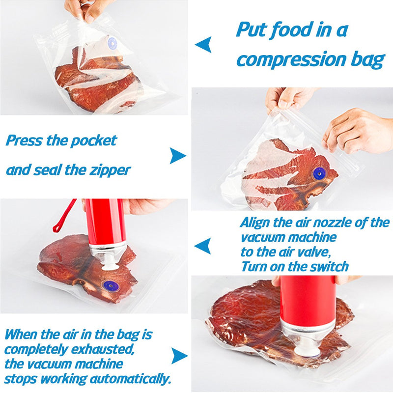 Reelanx Vacuum Sealer Pump With Five Compressed Bag