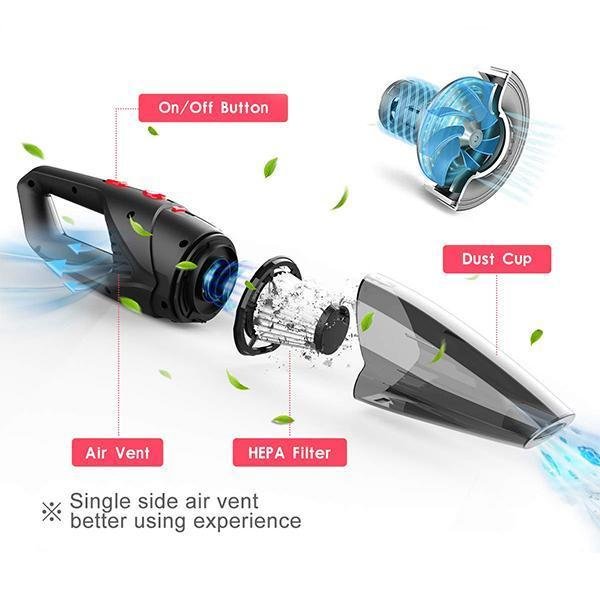 Wireless Car Vacuum Cleaner