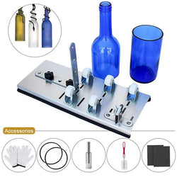Glass Bottle Cutter DIY Machine With Tool Kits