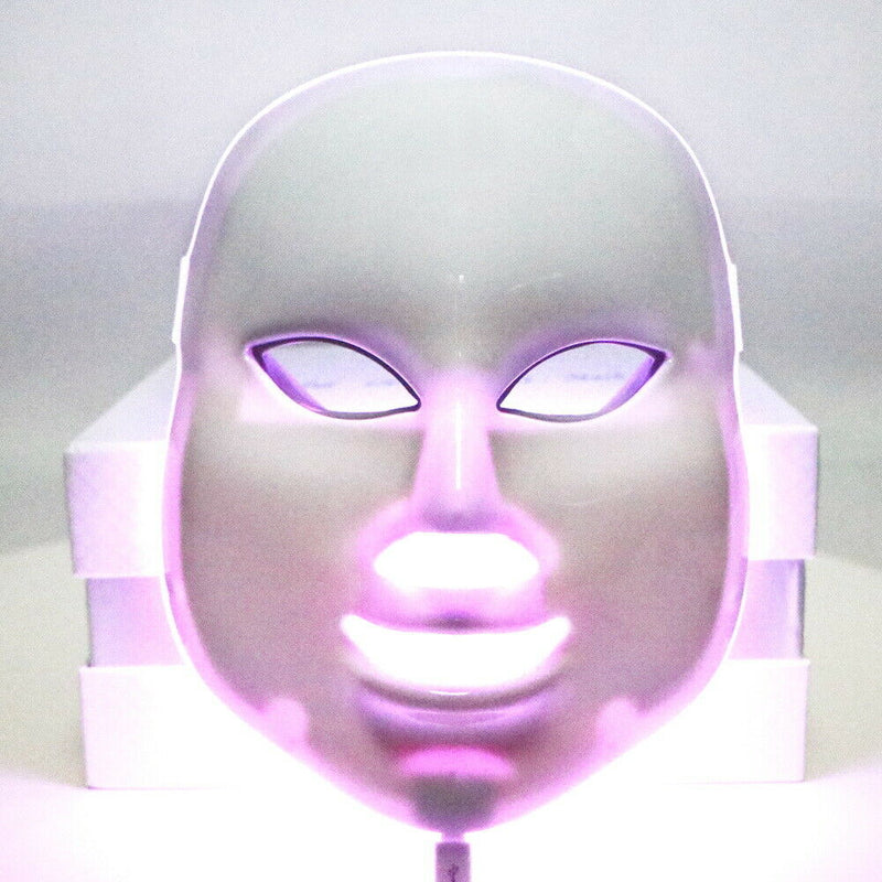 7 Color Led Beauty Mask Led Light Therapy Facial Skin Care Mask Skin Tighten