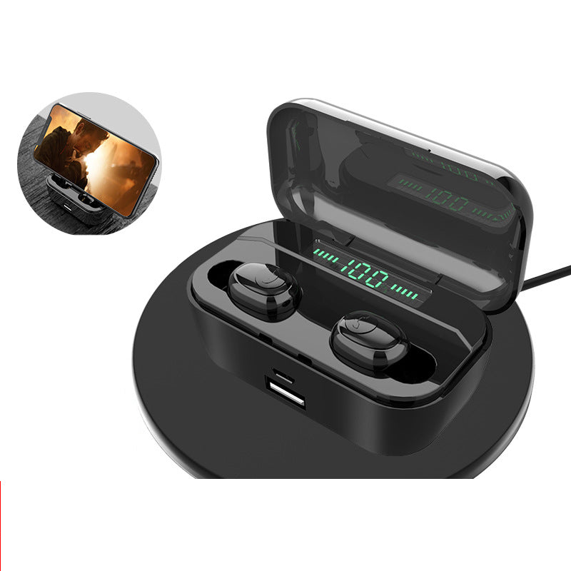 G6S Explosive TWS Bluetooth Headset Mobile Wireless Headset led Display Charging Warehouse with Charging Treasure