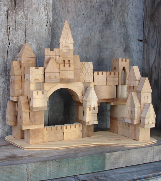 Handcrafted Castle Building Blocks