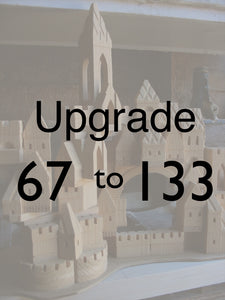 Upgrade your 67pc Starter set into the 133 piece set