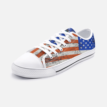 Load image into Gallery viewer, American Flag Unisex Low Top Shoes - Felure