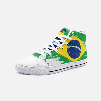 Brazilian Flag Unisex High Top Shoes - Felure