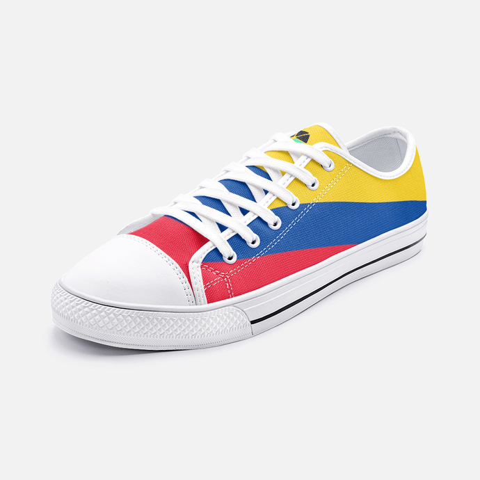 Colombia Flag Shoes Unisex Low Top - Felure