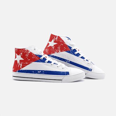 Cuban Flag Shoes Unisex High Top - Felure