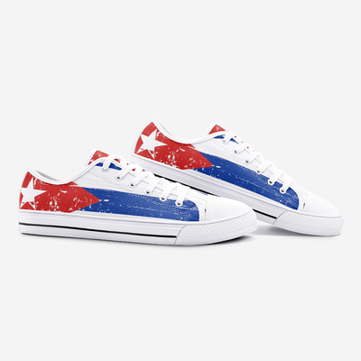 Cuban Flag Shoes Unisex Low Top - Felure