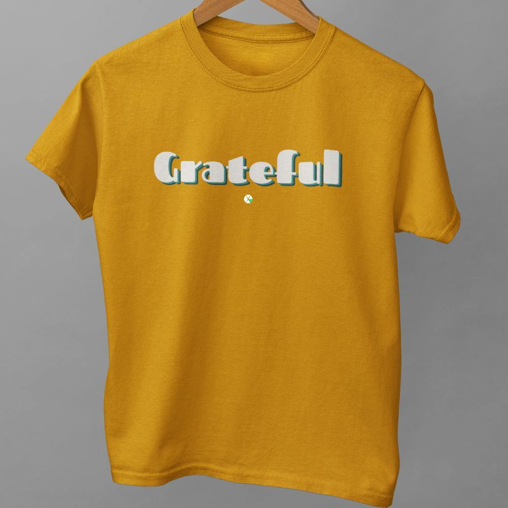 Grateful Inspirational T Shirt Unisex NEW COLORS - Felure