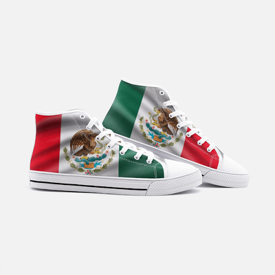 Mexican Flag Shoes Unisex High Top - Felure