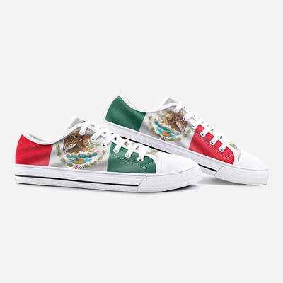 Mexican Flag Shoes Unisex Low Top - Felure