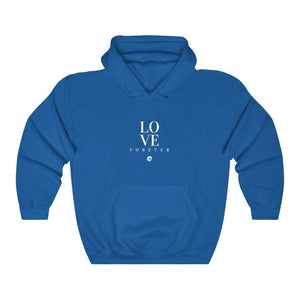 Unisex Hooded Sweatshirt Love Forever - Felure
