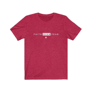 Unisex T Shirt Over Fear Tee - Felure