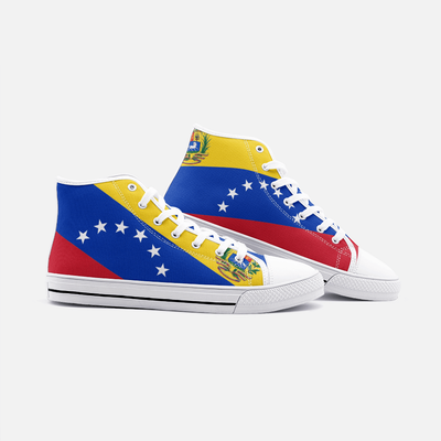 Venezuela Flag Unisex High Top Shoes - Felure