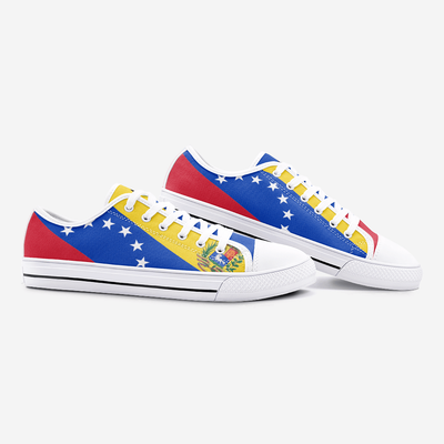 Venezuela Flag Unisex Low Top Shoes - Felure