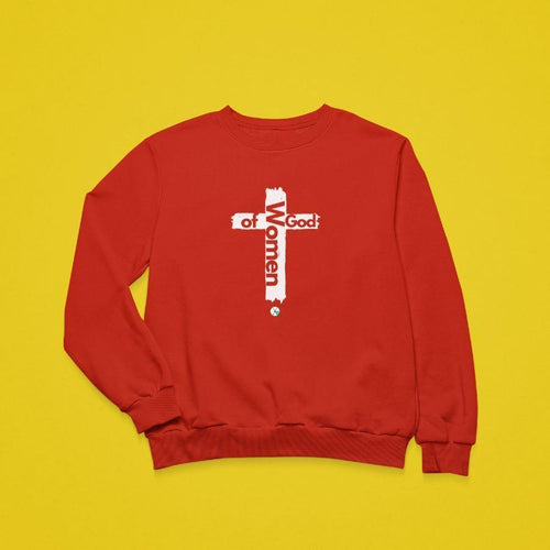 Women of God Crewneck Sweatshirt Unisex - Felure