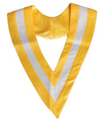 Unisex Adult Plain Choir Stole Graduation Two Colors V-Stole