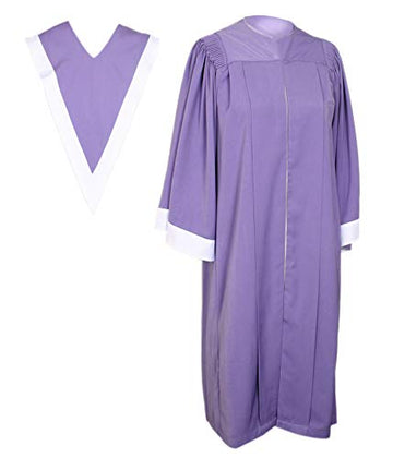Classic Choir Robe with V Stole