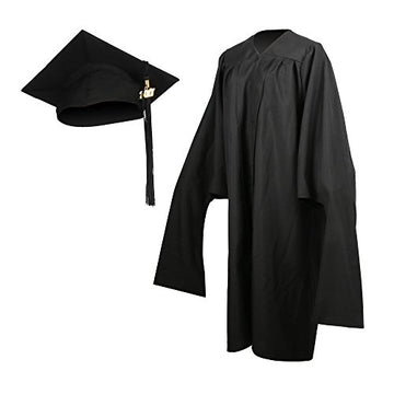 Economy Master Graduation Gown Cap With Graduation Tassel & Year Charm