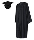 Graduation Matte Gown with Cap NO Tassel