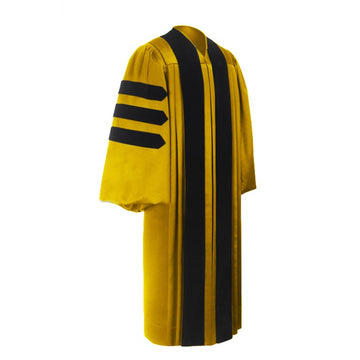 Deluxe Doctoral Graduation Gown